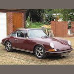 1970 Porsche 911E 2.2-Litre Coupé  Chassis no. 9110201124 Engine no. 6202240