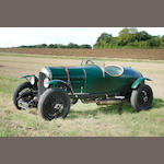 1922 Bentley 3-Litre Tourer  Chassis no. 91 Engine no. 617
