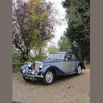 1936 MG SA Sports Saloon  Chassis no. SA 0444 Engine no. QPHG 605