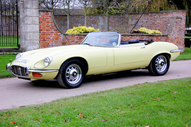 8,1972 Jaguar E-Type Series III V12 Roadster  Chassis no. 1S1618 Engine no. 7S8948SB