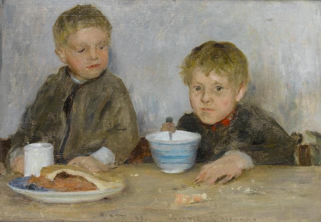 Henry Scott Tuke, RA, RWS (British, 1858-1929) Georgie & Richard