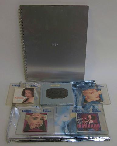 Madonna: a copy of the book 'Sex',