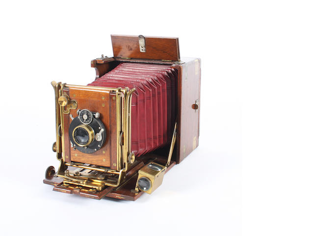 A J Lizars 'Challenge' Tropical hand camera