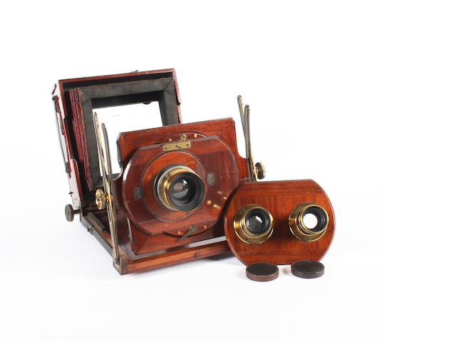 Stereo Sanderson Field camera