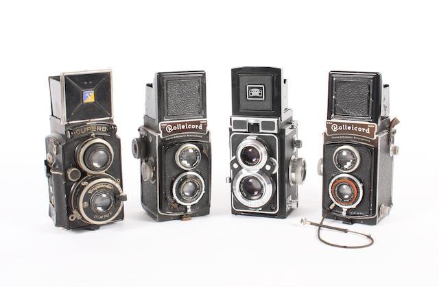Twin lens reflex cameras 4
