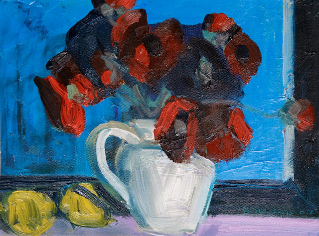 Brian Ballard (Irish, born 1943) Poppies and Lemons