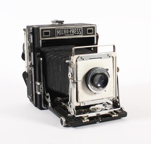 MPP and half plate field camera