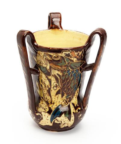 A Brannam  art pottery vase Circa 1900