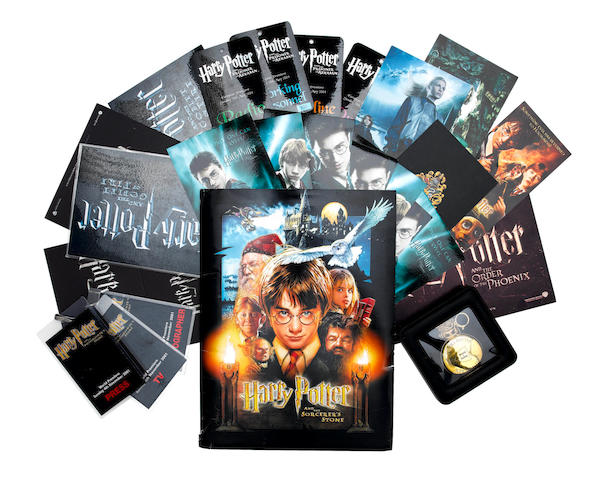 Harry Potter: A collection of autographs and premiere memorabilia, including: quantity