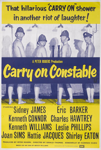 A collection of Carry On related British one-sheet and Quad posters,  titles including:6