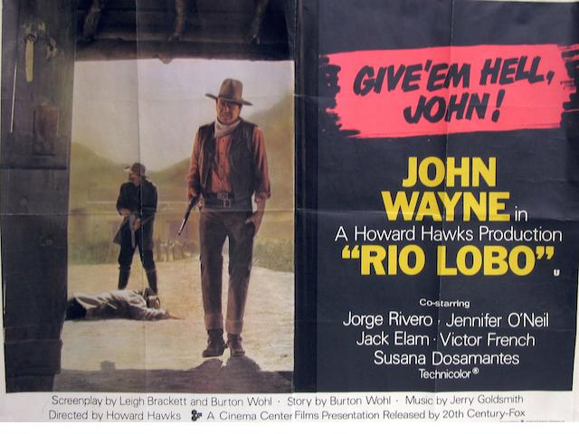 A collection of Western related British Quad film posters,  titles including:13