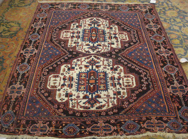 An Afshar rug, South West Persia, 189cm x 155cm