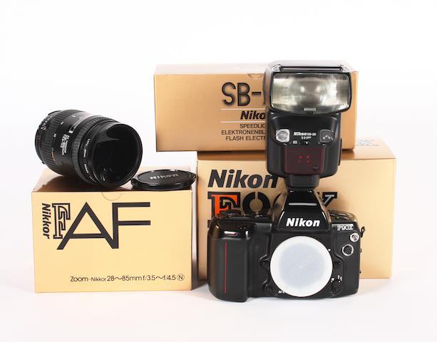 Nikon F90X camera 6