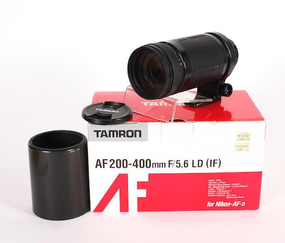Tamron AF200-400mm lens