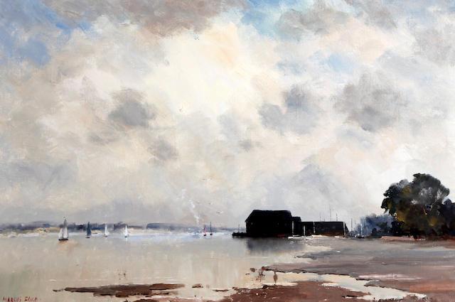 Marcus Ford (British, 1914-1989) 'Dell Quay, Sussex'