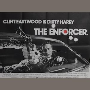 A collection of Clint Eastwood related posters, UK quads,16