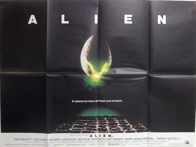 Alien, 20th Century Fox, 1979, 2