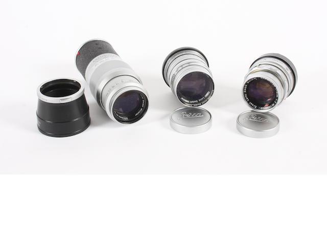 Leica lenses qty