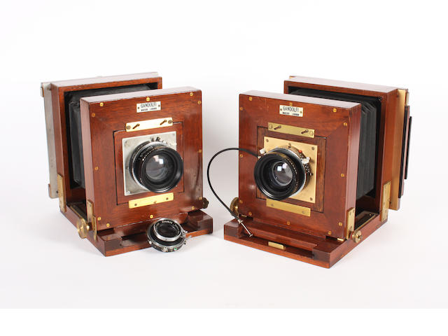 Field cameras by Gandolfi, London