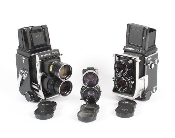 Mamiya Twin Lens Reflex cameras