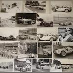 Photographs relating to pre-War Mercedes-Benz and Auto Union Grand Prix racing,