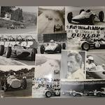 Assorted 1960s Grand Prix race photographs, by Geoff Goddard,