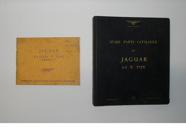 Two manuals for Jaguar 'E' Type