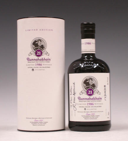 Bunnahabhain-21 year old-1986
