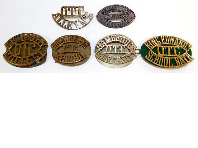 OTC Shoulder Titles