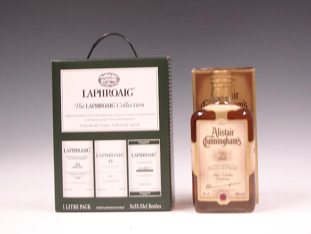 The Laphroaig Collection (3):   Alistair Cunningham's 50 years Blend