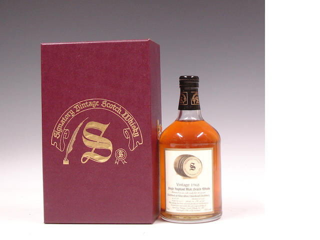 Macallan-Glenlivet-30 year old-1968