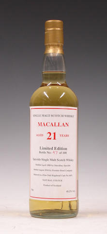 Macallan-21 year old-1989