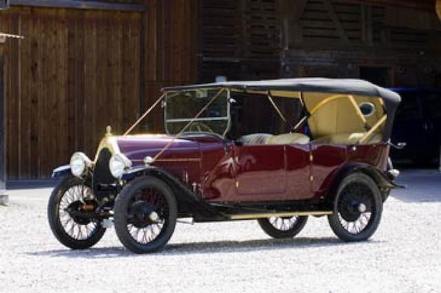 1921 Bugatti 23 Brescia Tourer