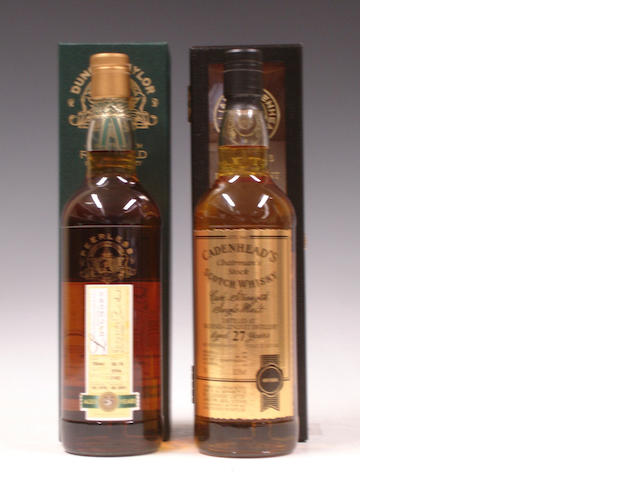 Longmorn-25 year old-1978Balvenie-Glenlivet-27 year old-1979