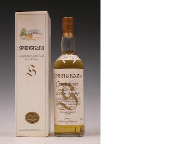 Springbank-22 year old-1972