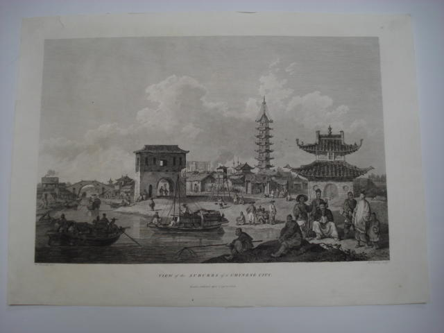 CHINA ALEXANDER (WILLIAM) Natives of Cochin China Playing Shuttlecock, 12th April, 1796; and 12 other loose prints from Staunton's <I>Embassy</I> (13)