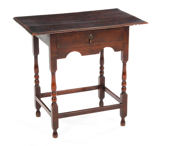 An early 18th century side table.