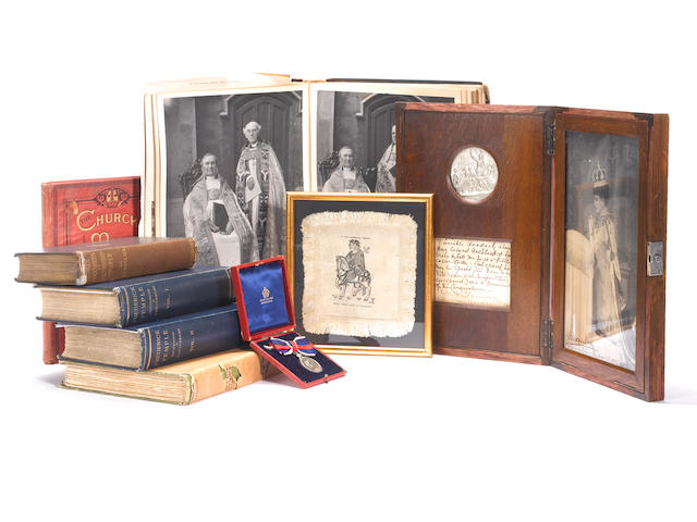 A collection of artefacts and documents, Archbishop Frederick Temple (1821-1902)
