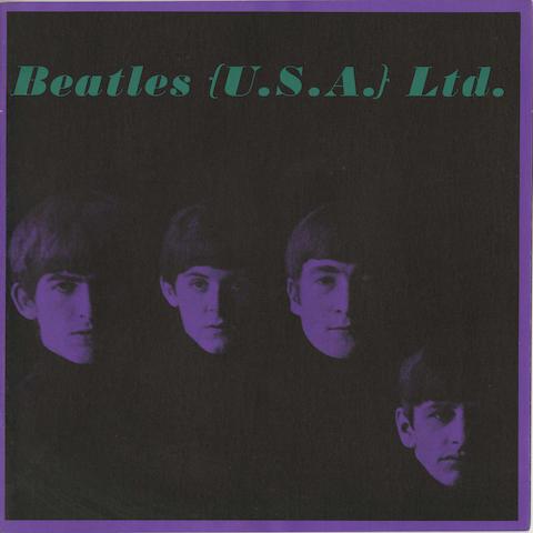 A set of three 'Beatles (U.S.A.) Ltd.' tour brochures,