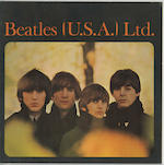 A set of three 'Beatles (U.S.A.) Ltd.' tour brochures,
