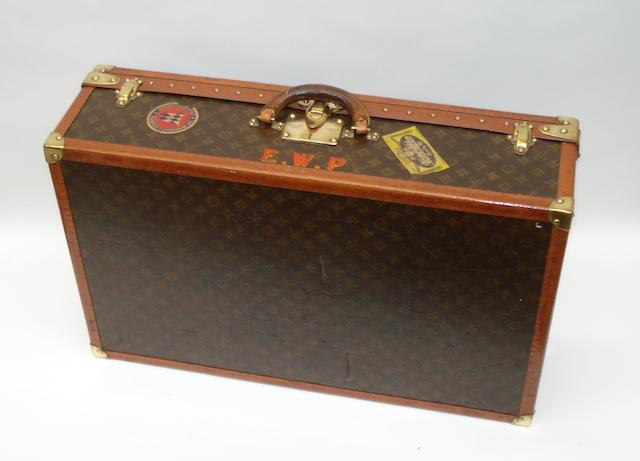A small Louis Vuitton suitcase, circa 1930,