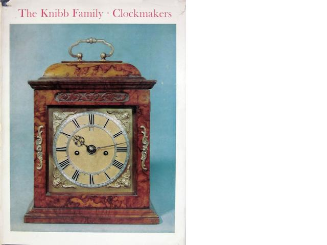 R A Lee: The Knibb Family Clockmakers  Byfleet 1964
