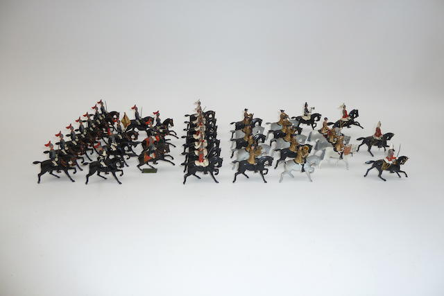 Britains set 101, Mounted Band of the Household Cavalry 38