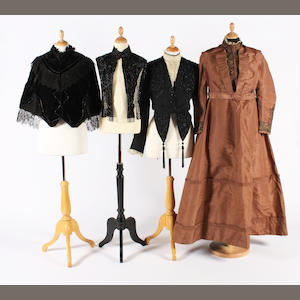 A group of late 19th-20th century clothing