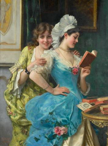 Federico Andreotti (Italian, 1847-1930) The sisters