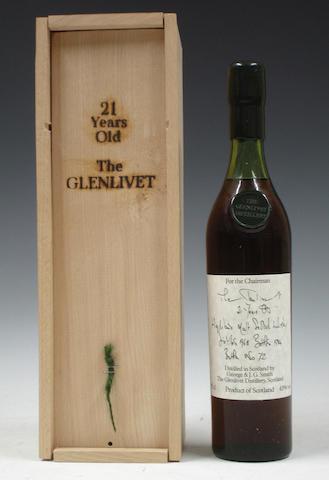 The Glenlivet-21 year old-1963