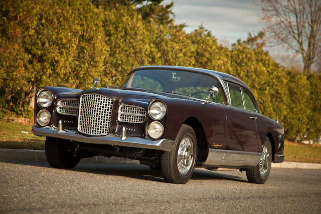 One of 36 produced,1957 Facel Vega FV4 Coupé  Chassis no. VF457NY8