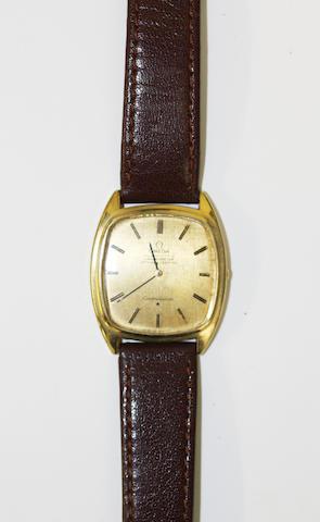 Omega: A gentlemans Constellation wristwatch