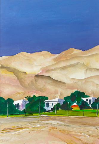 Donald Hamilton Fraser (British, 1929-2009) Study near Jerusalem (image size)