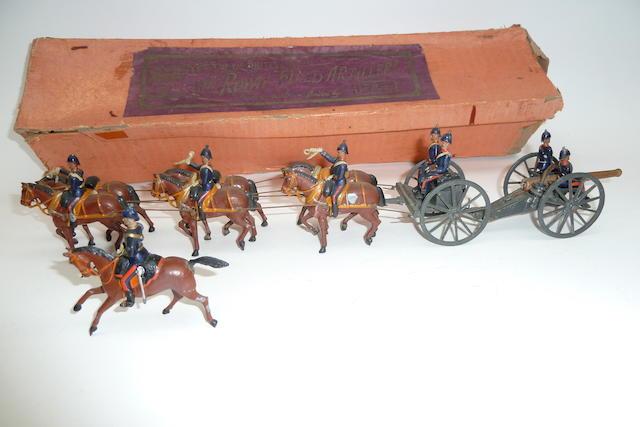 Britains set 144, Royal Field Artillery 13